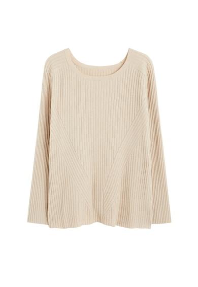 VIOLETA BY MANGO Рипсен пуловер Sofi Жени