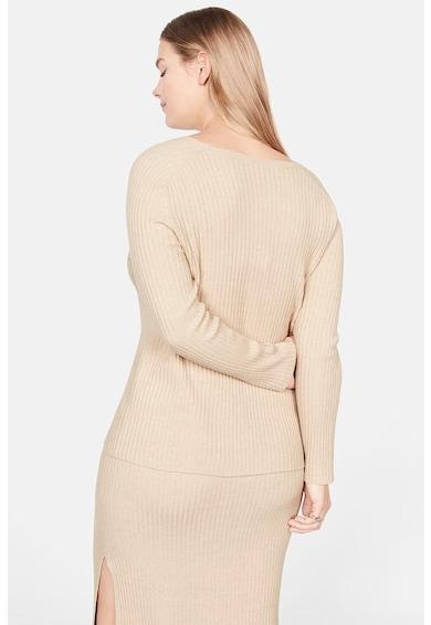 VIOLETA BY MANGO Pulover din tricot cu striatii Sofi Femei