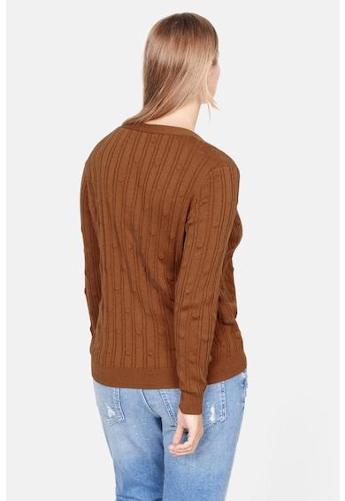 VIOLETA BY MANGO Cardigan din tricot fin cu striatii Bolita Femei