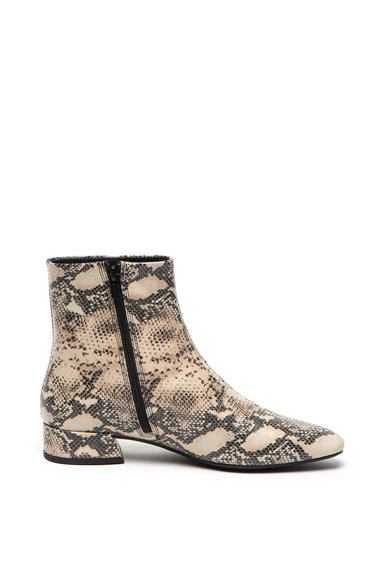 Vagabond Shoemakers Ghete de piele cu aspect piele de sarpe Joyce Femei