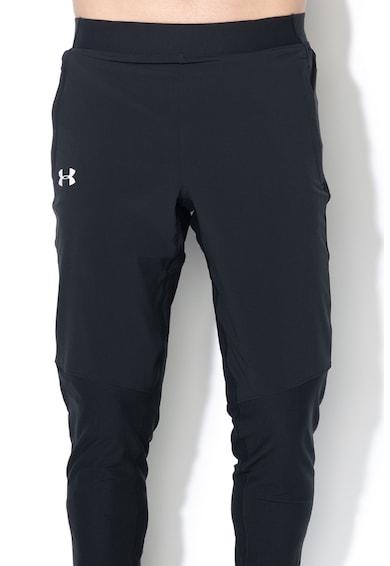 Under Armour Pantaloni cu slituri cu fermoar, pentru alergare Qualifier Barbati