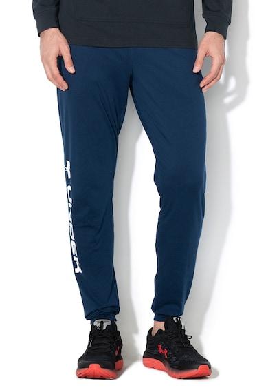Under Armour Pantaloni sport lejeri cu logo lateral, pentru fitness Barbati