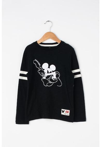 GAP Bluza cu imprimeu Mickey Mouse Baieti