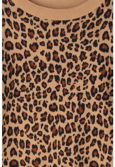 GAP Pulover din tricot fin cu animal print Fete