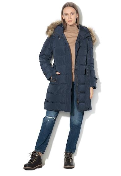 Esprit Подплатено зимно яке с качулка Жени