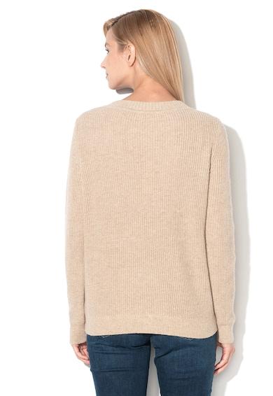 Esprit Плетен пуловер с перфорации Жени