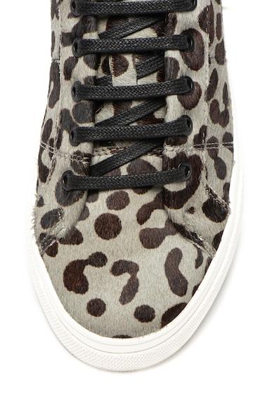 Ted Baker Спортни обувки Lephie от кожа с косъм и животинска шарка Жени