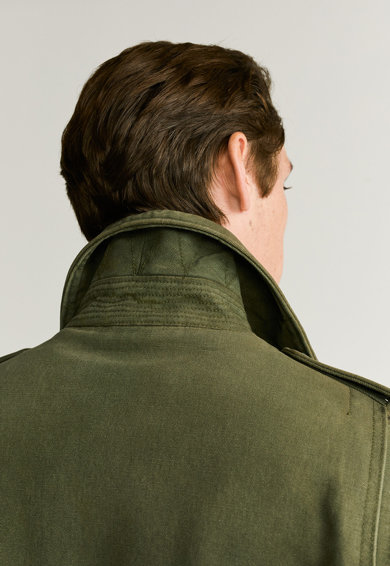 Mango Nonit katonai dzseki fedőlapos zsebekkel férfi