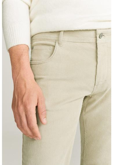 Mango Pantaloni din reiat cu buzunare Bardem Barbati