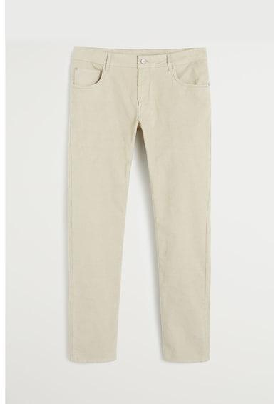 Mango Джинсов панталон Bardem с джобове Мъже