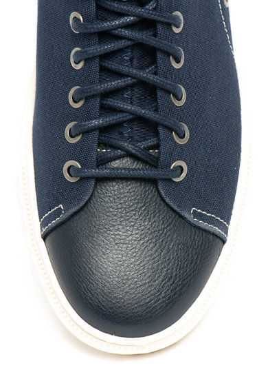 Polo Ralph Lauren Pantofi sport din material textil, cu insertii de piele Dunovin Barbati