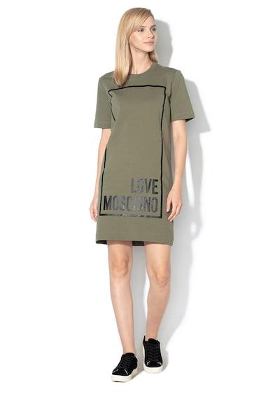 Love Moschino Rochie sport dreapta cu imprimeu logo Femei