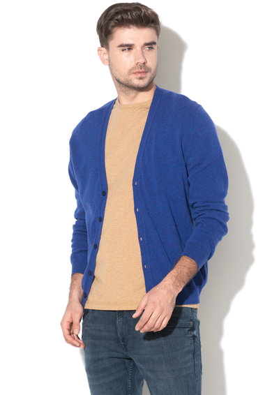 United Colors of Benetton Cardigan regular fit din lana Merinos virgina Barbati