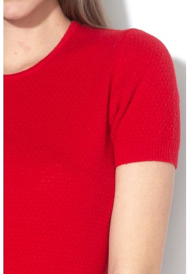 United Colors of Benetton Pulover din amestec de lana cu aspect texturat Femei