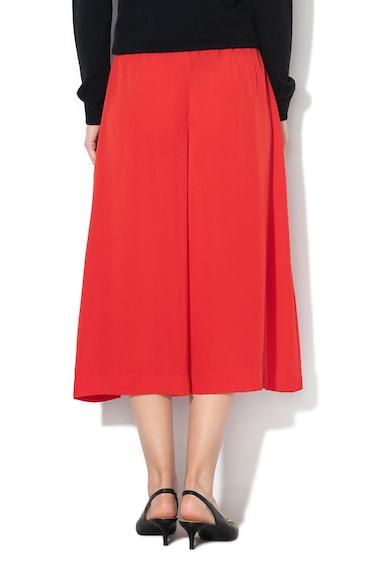 Sisley Pantaloni culotte cu pliuri Femei