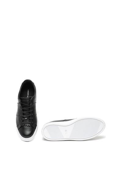 Lacoste Pantofi sport din piele cu detalii brogue City Club Femei