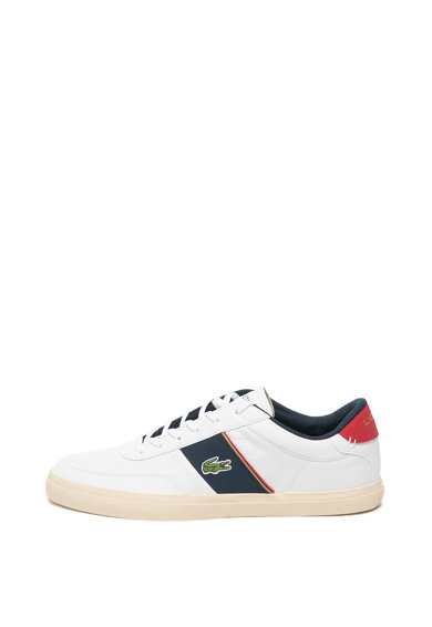 Lacoste Pantofi sport cu garnituri din piele Court-Master Barbati