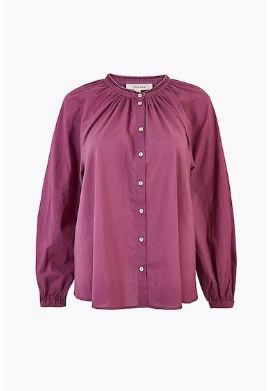 Marks & Spencer Camasa din bumbac cu mansete elastice Femei