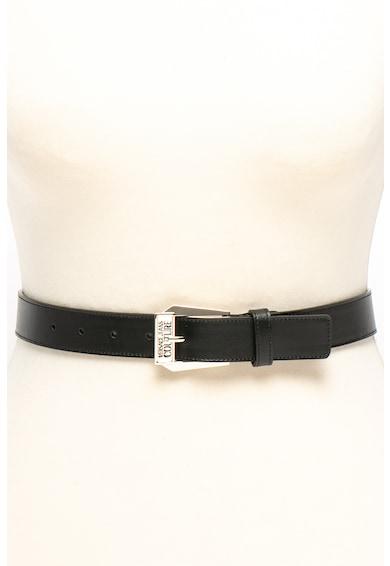 Versace Jeans Couture Curea de piele cu catarama cu logo Femei