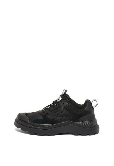 Palladium Pantofi sport unisex, cu garnituri de piele intoarsa Pallakix 90 Femei