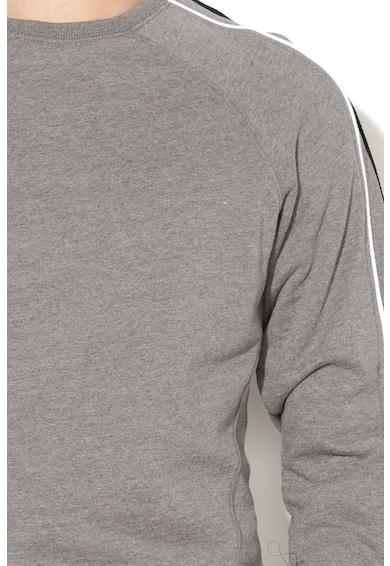 BLEND Bluza sport cu decolteu la baza gatului si detalii pe maneci Barbati