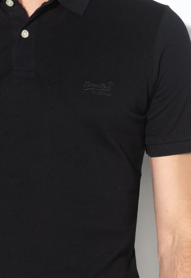 SUPERDRY Tricou polo cu broderie logo Barbati