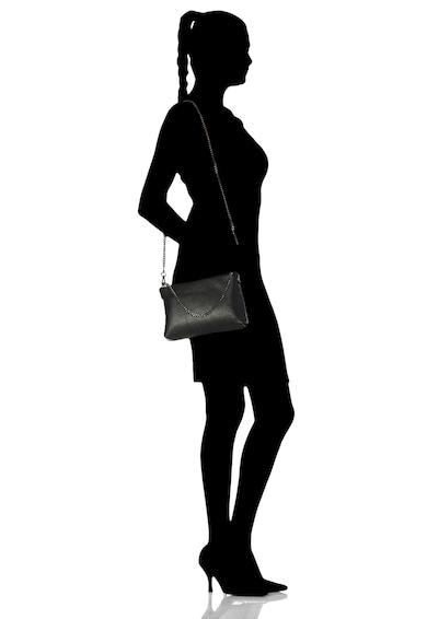 Classeregina Geanta crossbody de piele, cu bareta din lant Femei
