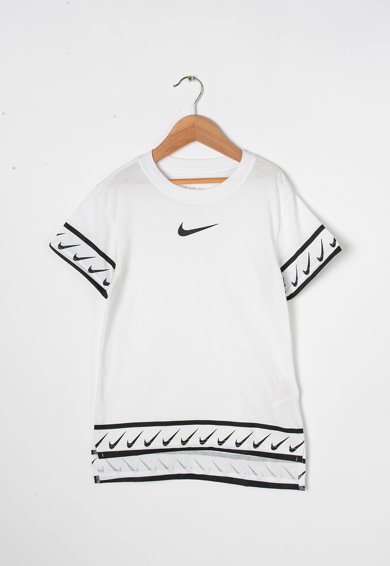Nike Tricou cu imprimeu logo Fete