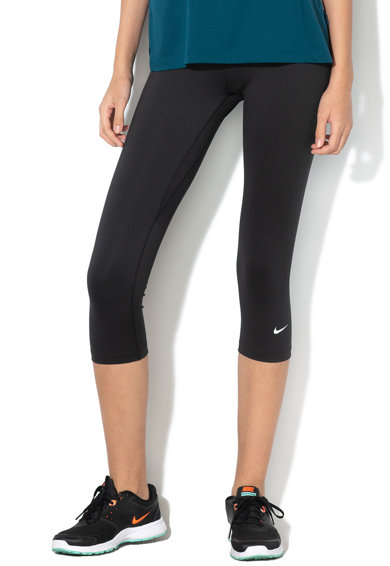 Nike Colanti capri cu Dri Fit, pentru fitness One Femei