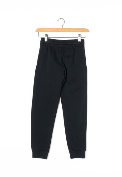 Nike Pantaloni cu imprimeu logo si captuseala din material fleece Fete