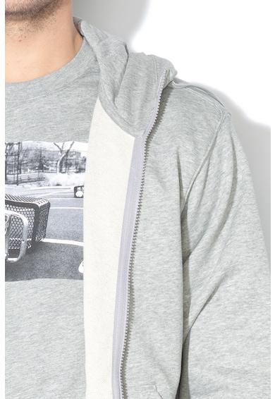 Nike Hanorac cu broderie logo si fermoar Club Barbati