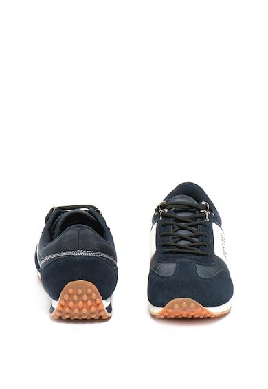Versace Jeans Couture Pantofi sport cu garnituri din piele si piele intoarsa Barbati