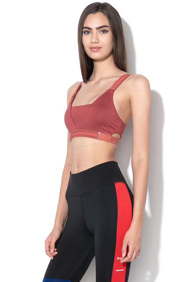 Nike Bustiera cu Dri Fit si sustinere medie, pentru fitness Infinity Femei