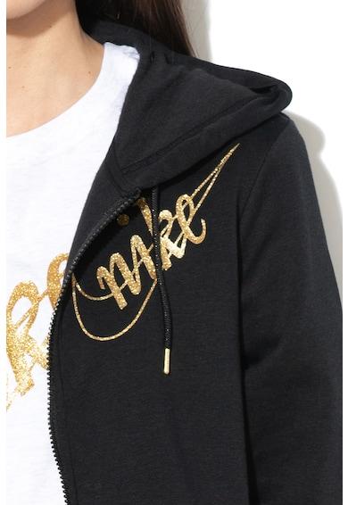 Nike Hanorac cu aplicatie logo stralucitoare Femei