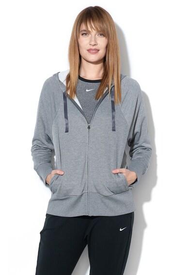Nike Hanorac din jerseu cu Dri-Fit, pentru fitness Femei