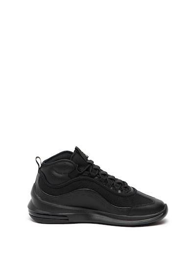 Nike Pantofi sport mid-high de piele cu insertii de plasa Air Max Axis Barbati