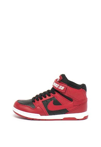 Nike Pantofi sport mid-high cu garnituri din piele Mogan Mid-2 JR Fete