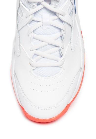 Nike Pantofi de piele cu insertii din material textil, pentru tenis Court Lite 2 Mid 2 Barbati