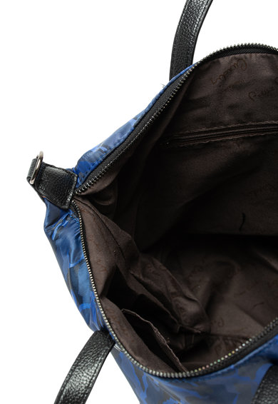 Pierre Cardin Geanta de umar cu model camuflaj si detaliu logo metalizat Femei