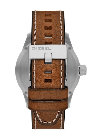 Diesel Fossil, Кварцов часовник с кожена каишка Мъже