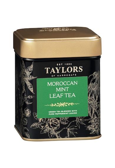 Taylors of Harrogate Pachet ceai Verde cu Iasomie, Ceai Verde Menta Marocana, Ceai Negru cu Petale de Trandafir, cutie metalica, 3 x 125 g Femei