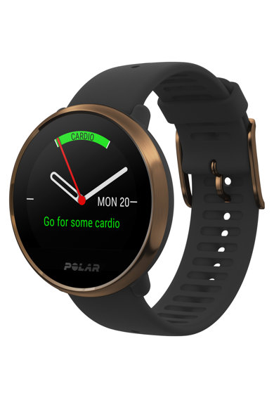 POLAR Ceas Smartwatch  Ignite, Medium/Large, Black/Copper Barbati