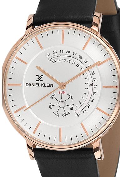 DANIEL KLEIN Ceas cronograf cu o curea de piele Barbati