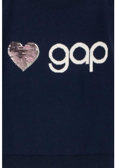 GAP Pulover cu logo si paiete reversibile Fete