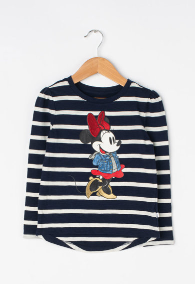 GAP Bluza in dungi cu imprimeu Minnie Mouse Fete