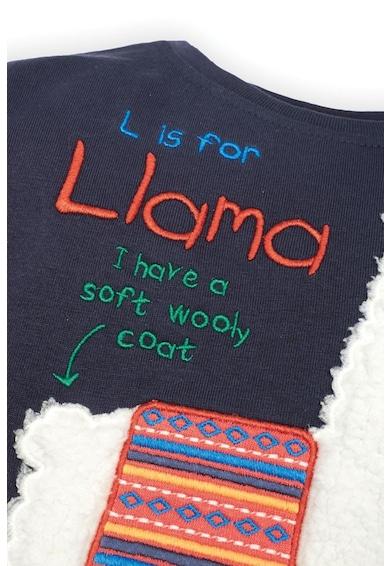 JoJo Maman Bebe Bluza din bumbac cu imprimeu Baieti