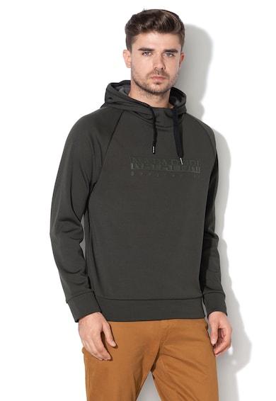 Napapijri Terres logómintás kapucnis pulóver férfi