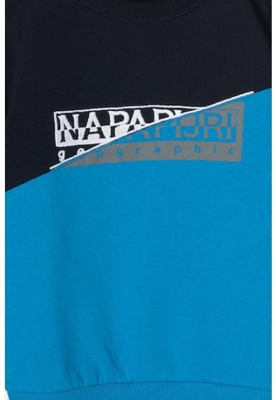 Napapijri Bluza sport cu decolteu la baza gatului si logo Baky Baieti