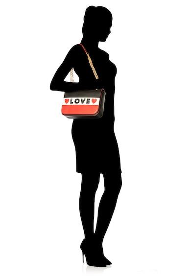 Love Moschino Geanta crossbody din piele ecologica Femei