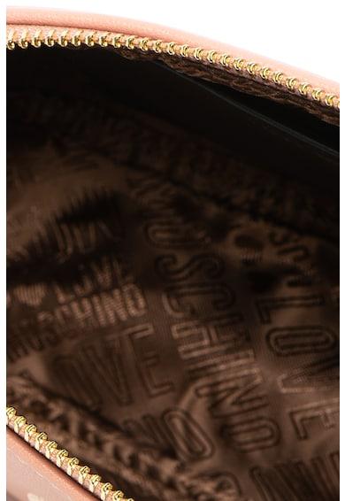 Love Moschino Borseta de piele ecologica, cu logo Femei